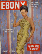 Ebony Magazine February 1956 Magazine