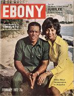 Ebony Magazine February 1972 Magazine