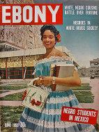 Ebony Vol. X No. 8 Magazine