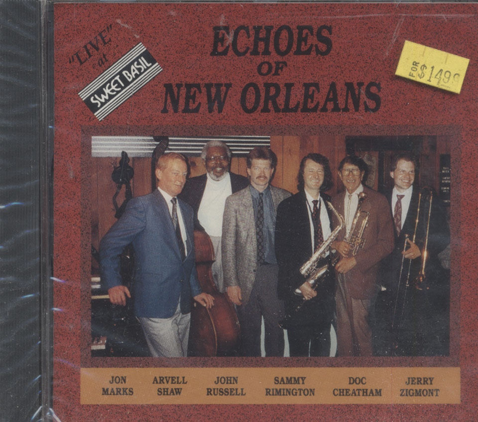 Echoes of New Orleans CD