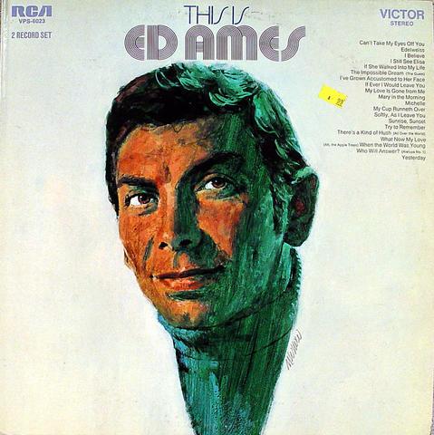 """Ed Ames Vinyl 12"""" (Used)"""