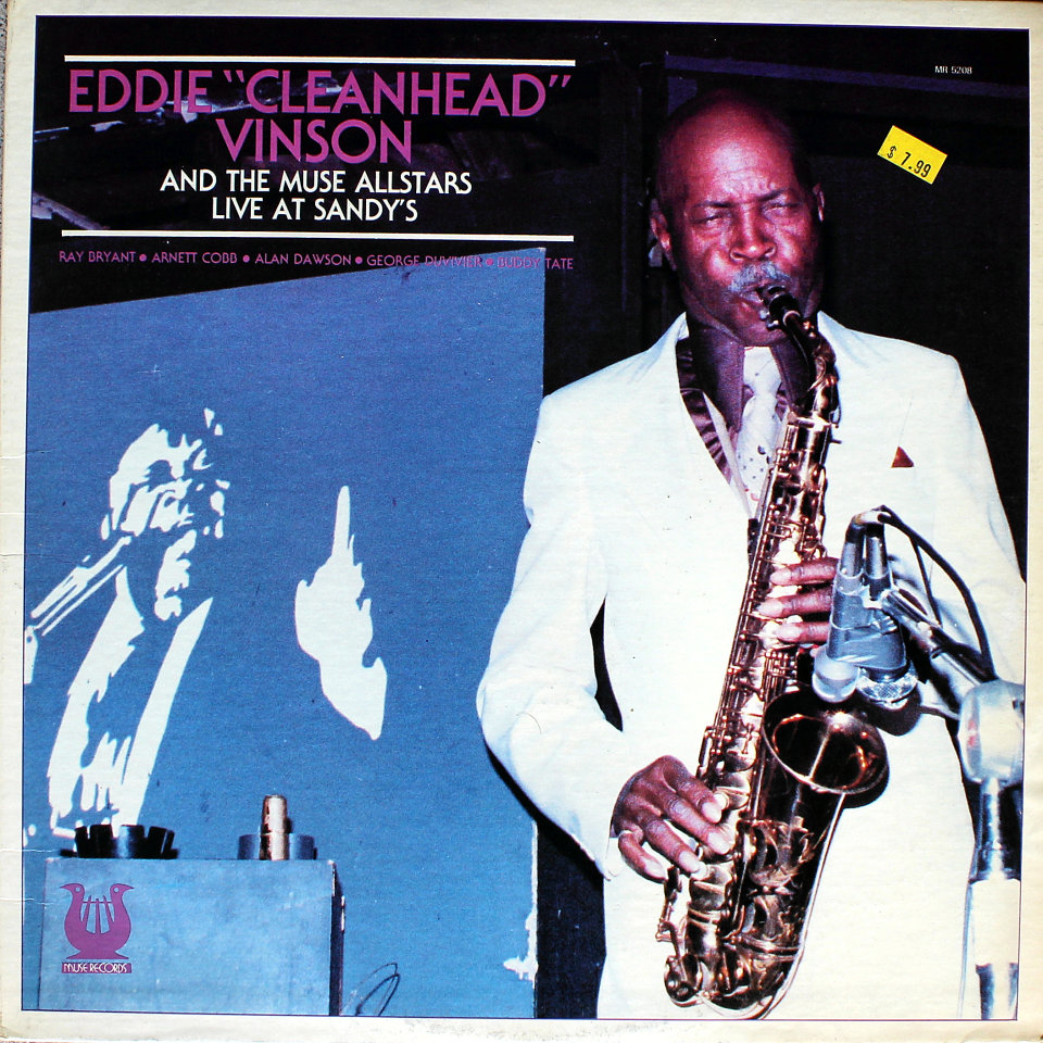 """Eddie """"Cleanhead"""" Vinson And The Muse Allstars Vinyl 12"""" (Used)"""