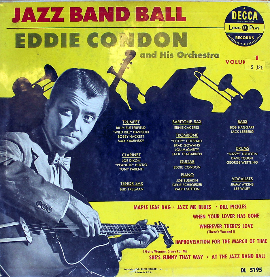 Eddie Condon Eddie Condon And His Orchestra Session Sunny Days