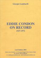 Eddie Condon On Record: 1927 - 1972 Book