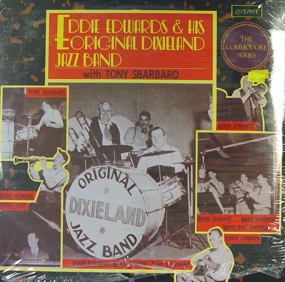 "Eddie Edwards & His Original Dixieland Jazz Band Vinyl 12"" (New)"