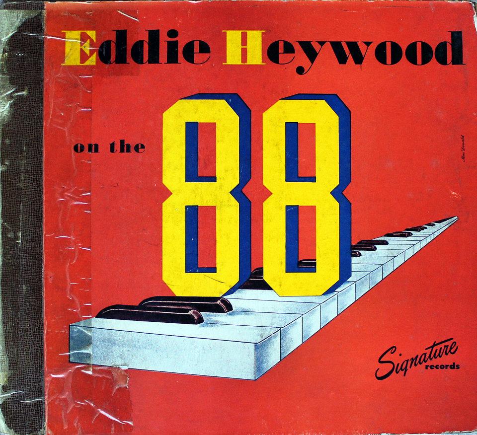 """Eddie Heywood On The 88 Vinyl 12"""" (Used)"""