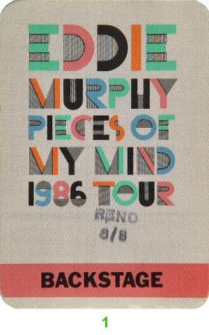 Eddie Murphy Backstage Pass