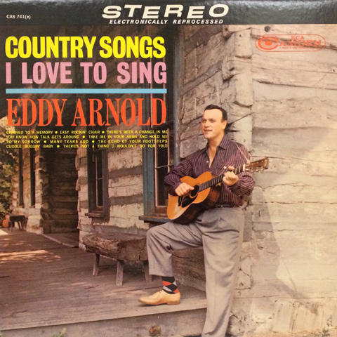 "Eddy Arnold Vinyl 12"" (Used)"