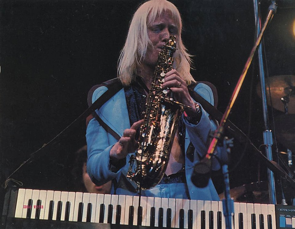 Edgar Winter Handbill