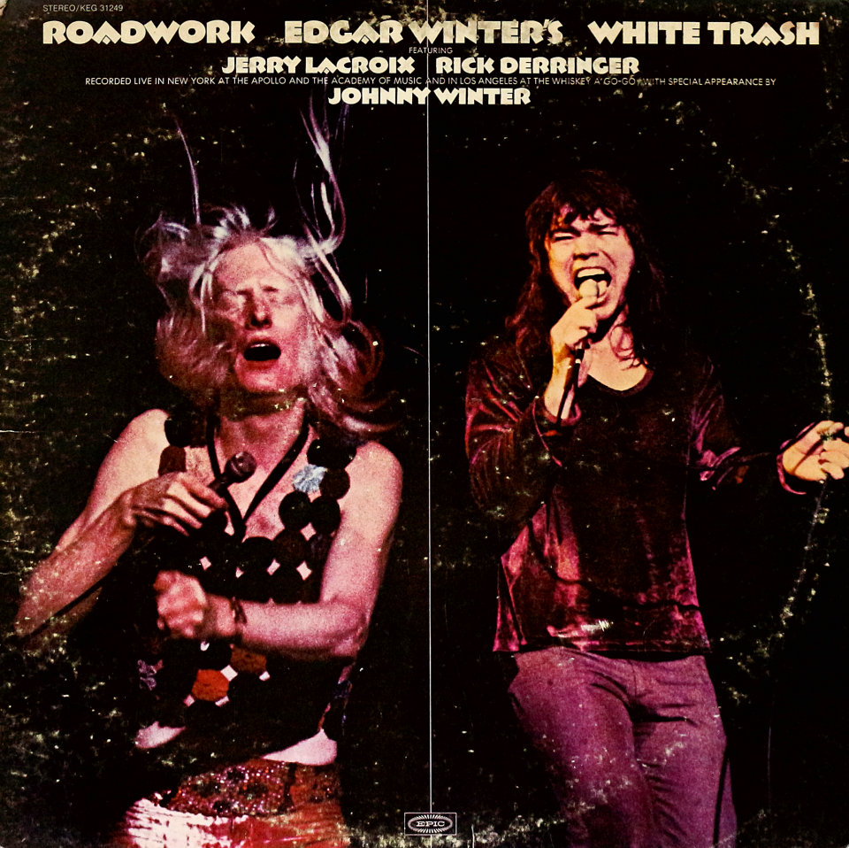 "Edgar Winter's White Trash Vinyl 12"" (Used)"
