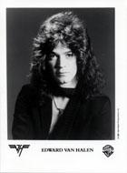 Edward Van Halen Promo Print