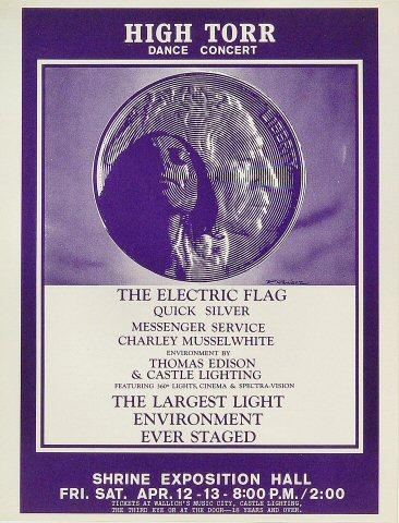Electric Flag Handbill