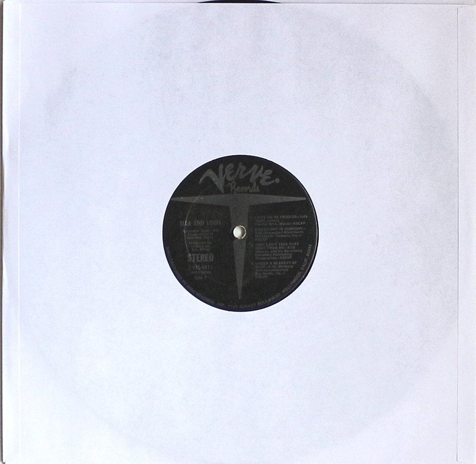 "Ella And Louis Vinyl 12"" (Used)"