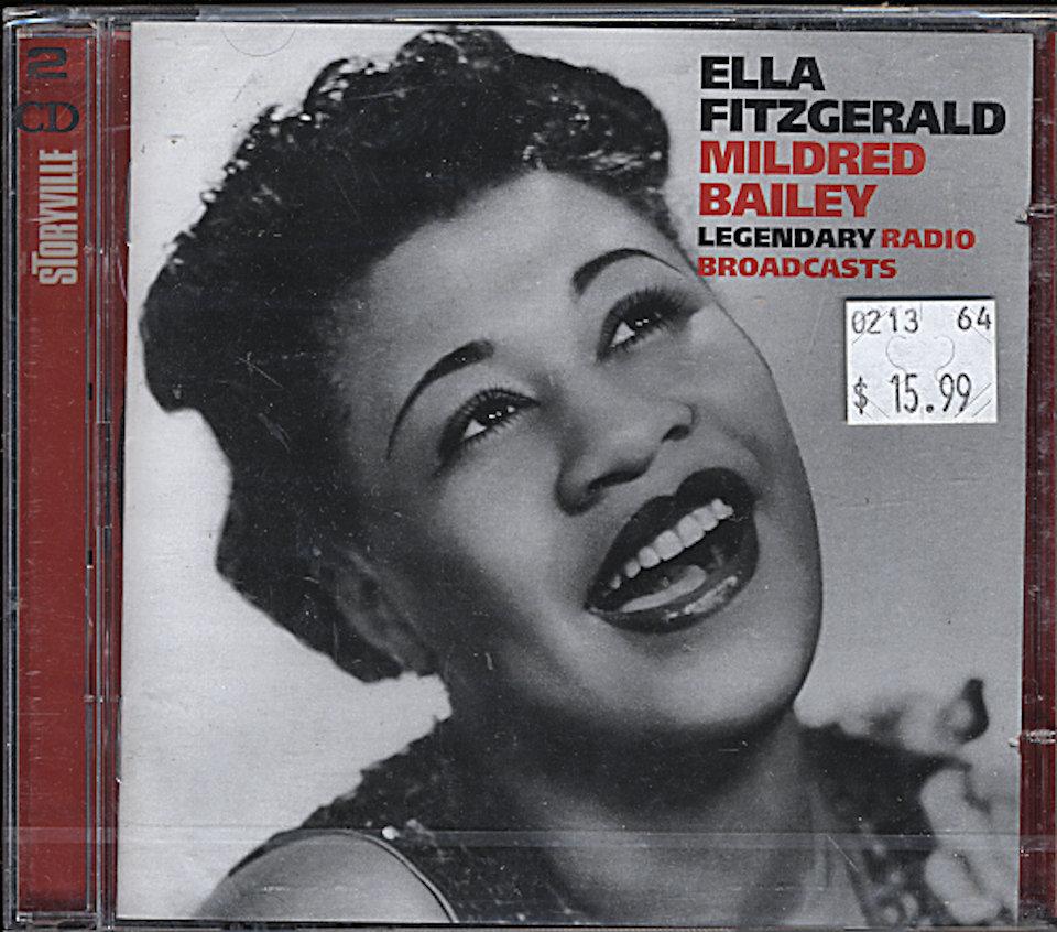 Ella Fitzgerald/ Mildred Bailey CD