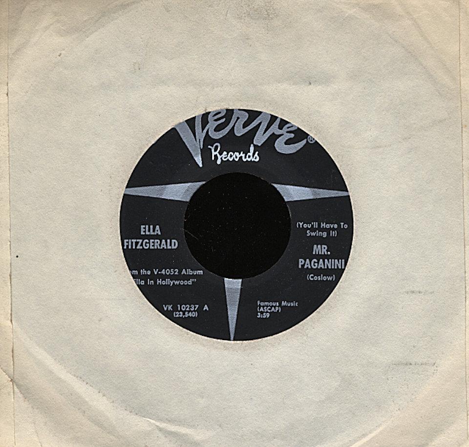 "Ella Fitzgerald Vinyl 7"" (Used)"