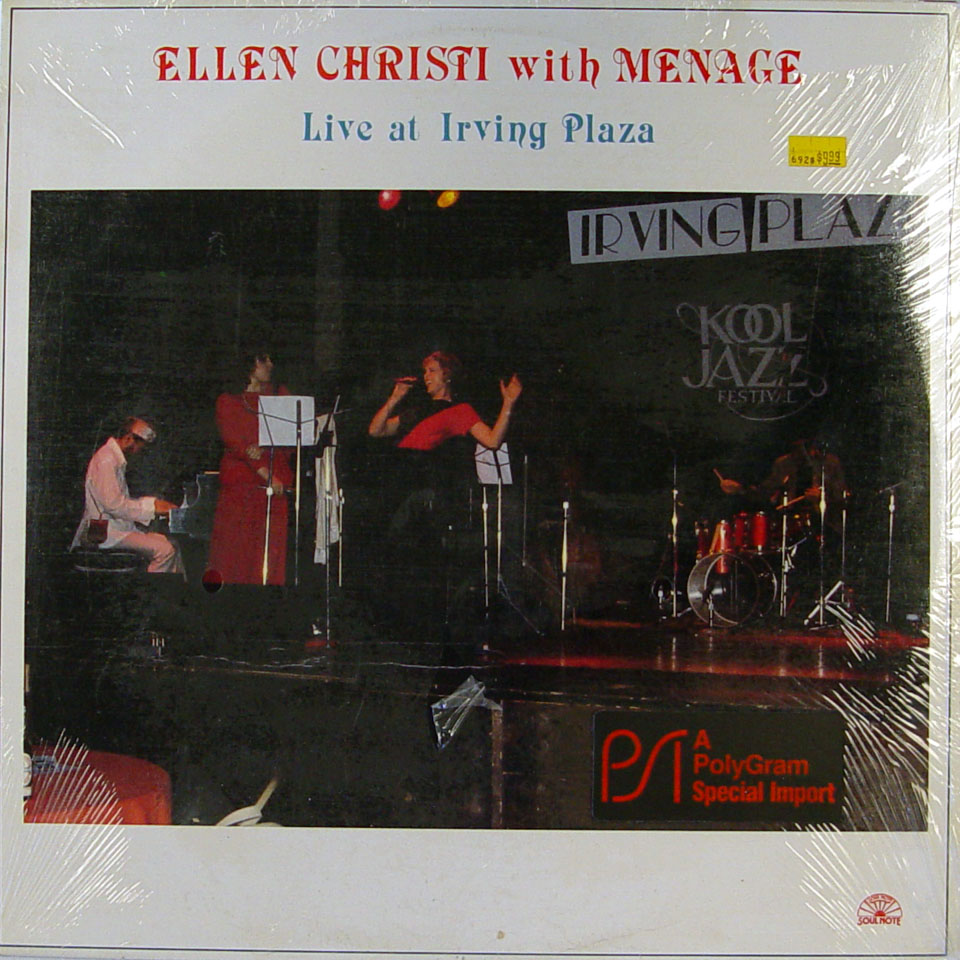 "Ellen Christi Vinyl 12"" (New)"