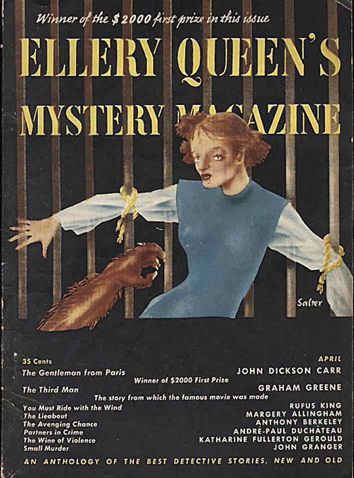 Ellery Queen's Mystery Apr 1,1950