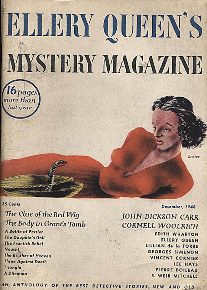 Ellery Queen's Mystery Dec 1,1948