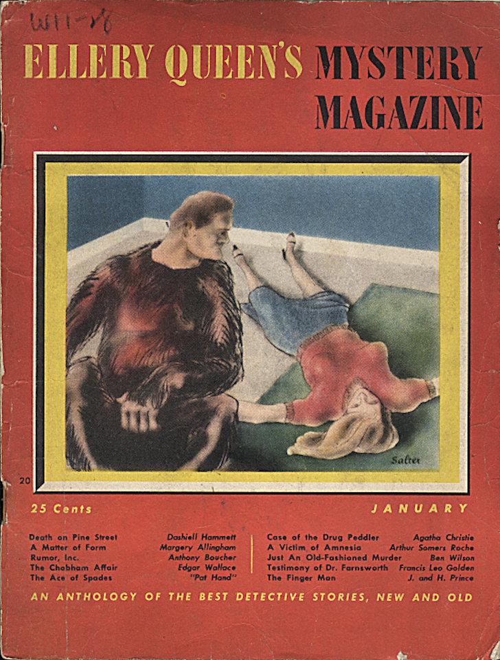 Ellery Queen's Mystery Jan 1,1945