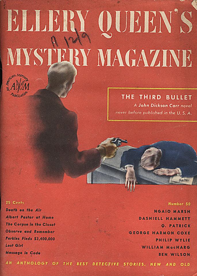 Ellery Queen's Mystery Jan 1,1948