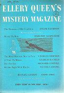 Ellery Queen's Mystery Magazine April 1957 Magazine