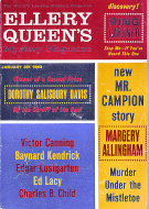 Ellery Queen's Mystery Magazine January 1963 Magazine
