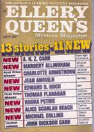 Ellery Queen's Mystery Magazine July 1969 Magazine