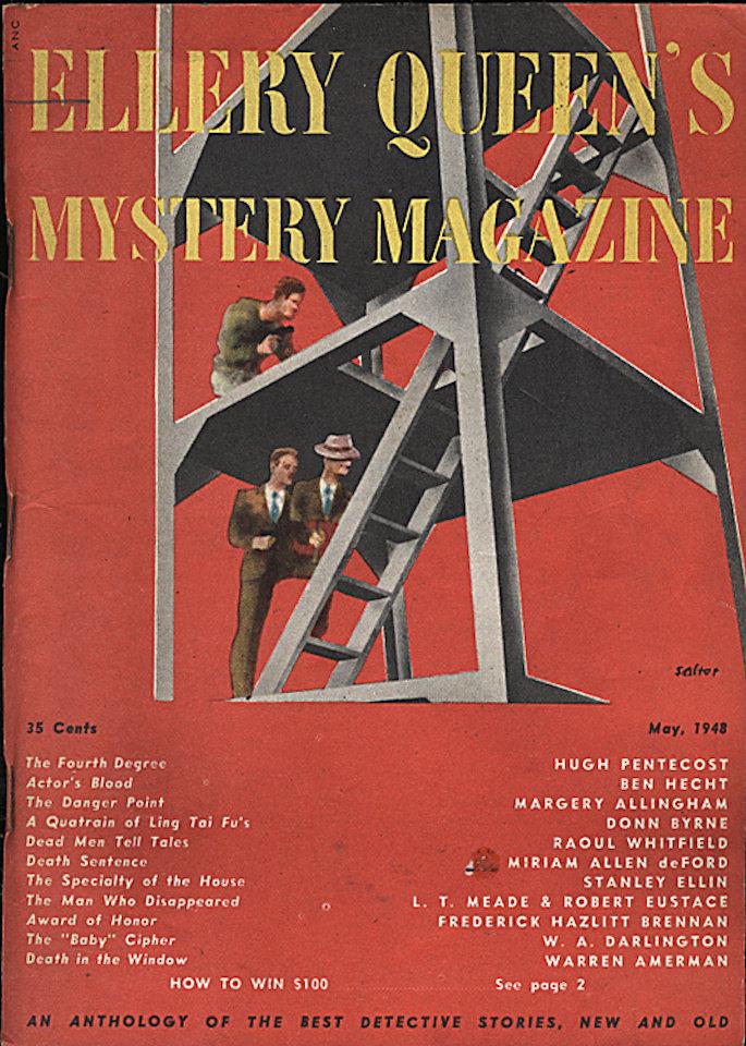 Ellery Queen's Mystery May 1,1948