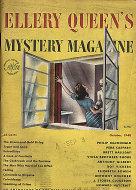 Ellery Queen's Mystery Oct 1,1948 Magazine