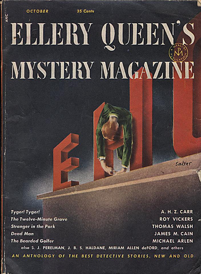 Ellery Queen's Mystery Oct 1,1952