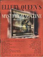 Ellery Queen's Mystery Sep 1,1945 Magazine