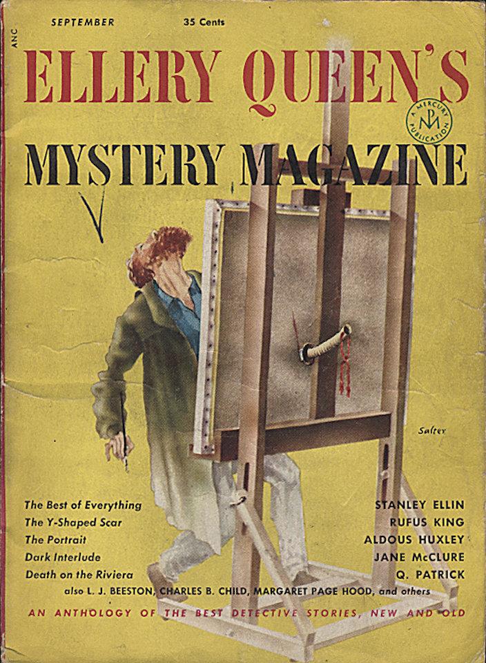 Ellery Queen's Mystery Sep 1,1952