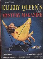 Ellery Queen's Mystery Vol. 24 No. 4 Magazine