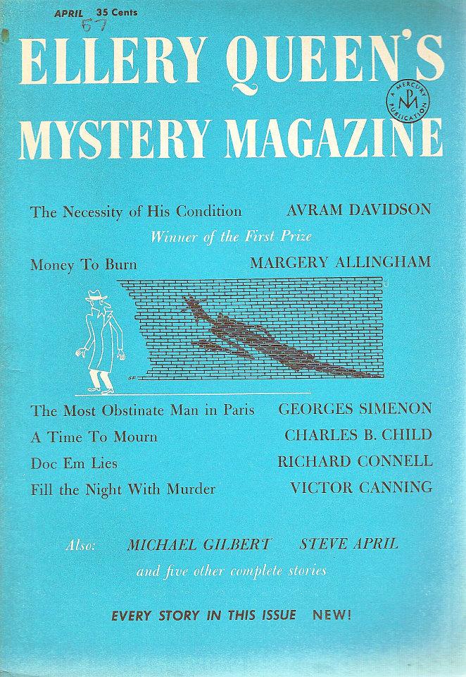 Ellery Queen's Mystery Vol. 29 No. 4