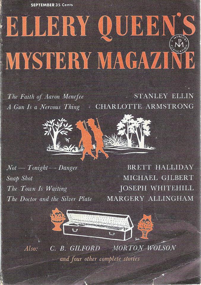 Ellery Queen's Mystery Vol. 30 No. 3