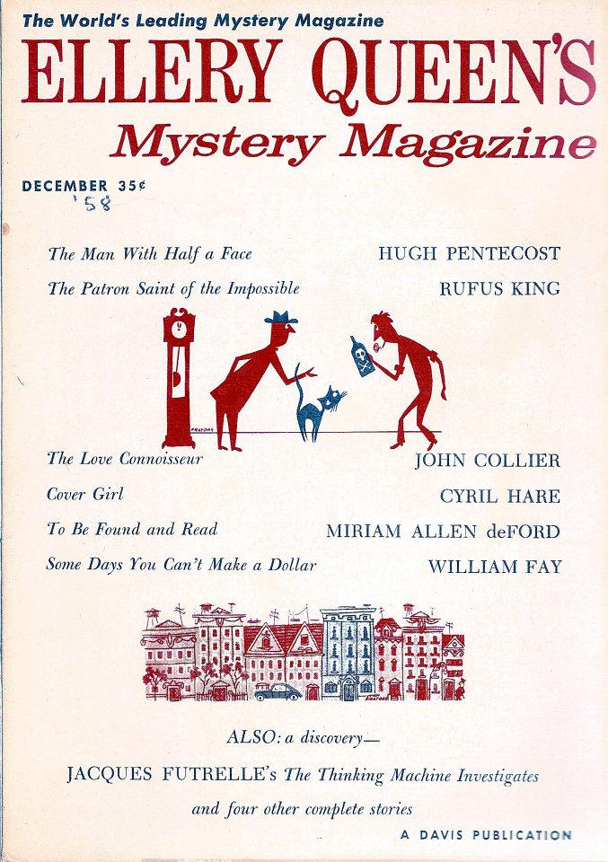 Ellery Queen's Mystery Vol. 32 No. 6