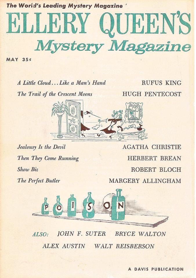Ellery Queen's Mystery Vol. 33 No. 5
