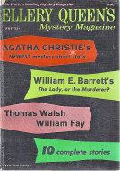 Ellery Queen's Mystery Vol. 33 No. 6 Magazine