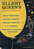 Ellery Queen's Mystery Vol. 35 No. 1 Magazine