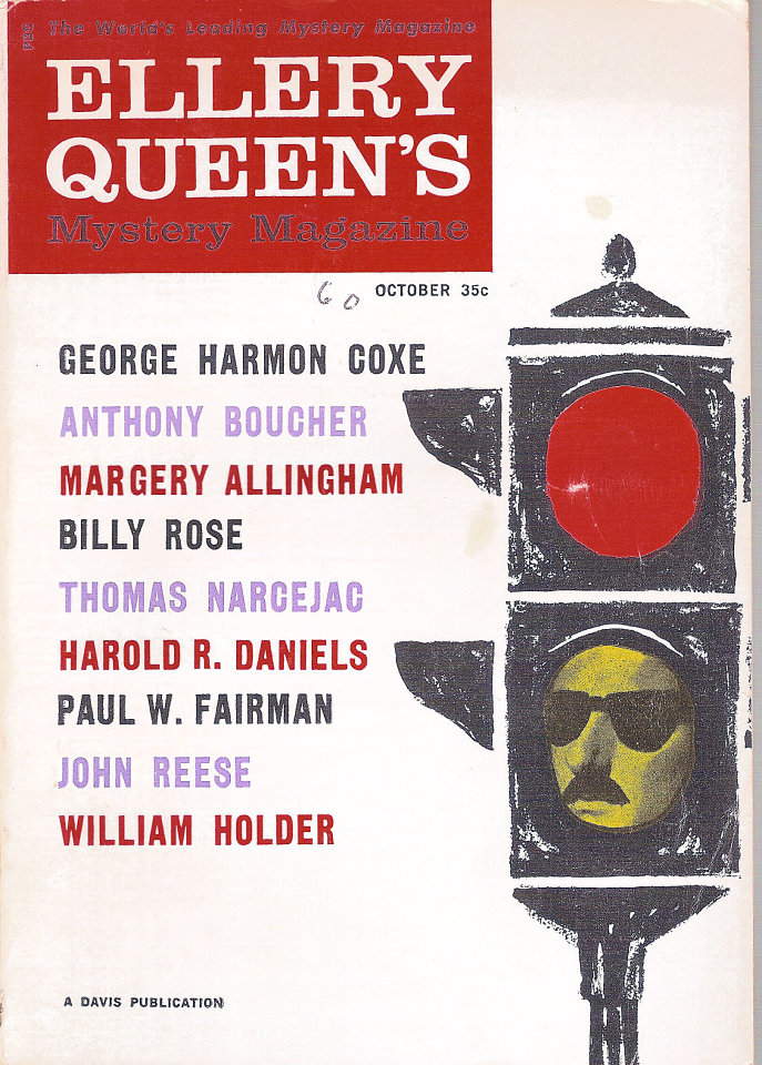 Ellery Queen's Mystery Vol. 36 No. 10