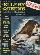 Ellery Queen's Mystery Vol. 36 No. 11 Magazine
