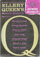 Ellery Queen's Mystery Vol. 39 No. 1 Magazine