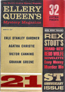 Ellery Queen's Mystery Vol. 39 No. 3 Magazine