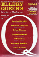 Ellery Queen's Mystery Vol. 40 No. 2 Magazine