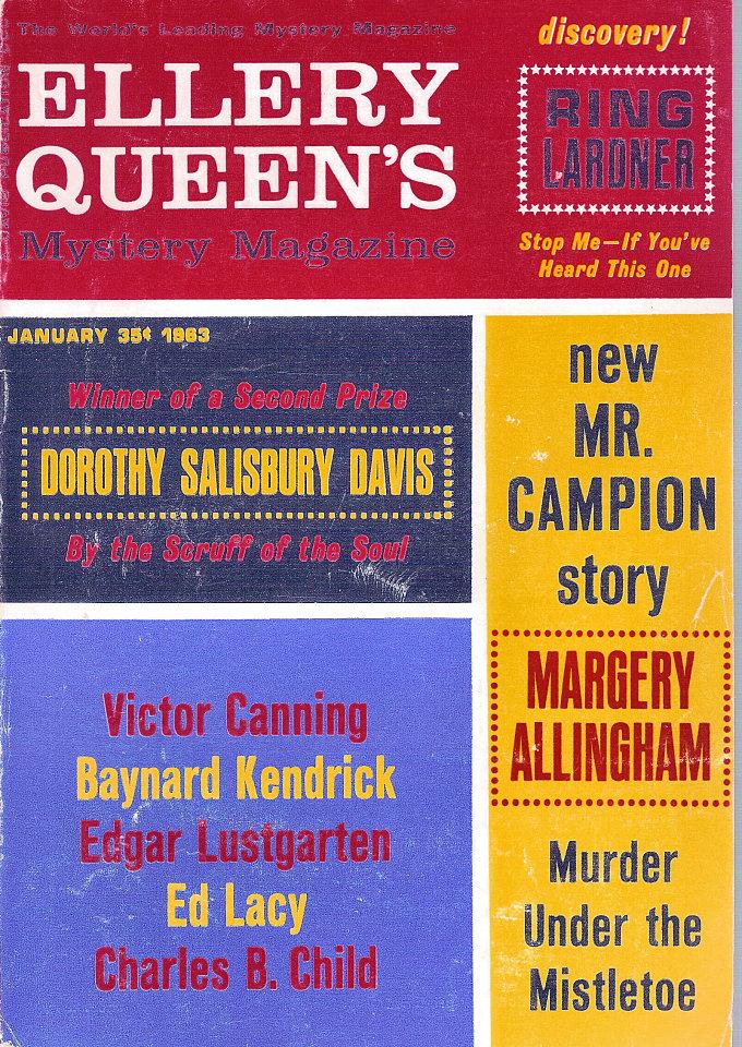 Ellery Queen's Mystery Vol. 41 No. 1