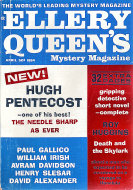 Ellery Queen's Mystery Vol. 43 No. 4 Magazine