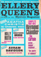 Ellery Queen's Mystery Vol. 46 No. 3 Magazine