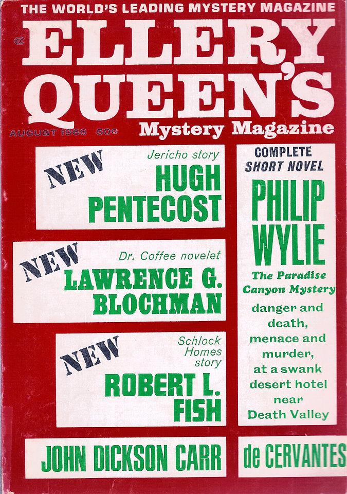 Ellery Queen's Mystery Vol. 48 No. 2