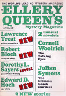 Ellery Queen's Mystery Vol. 49 No. 4 Magazine