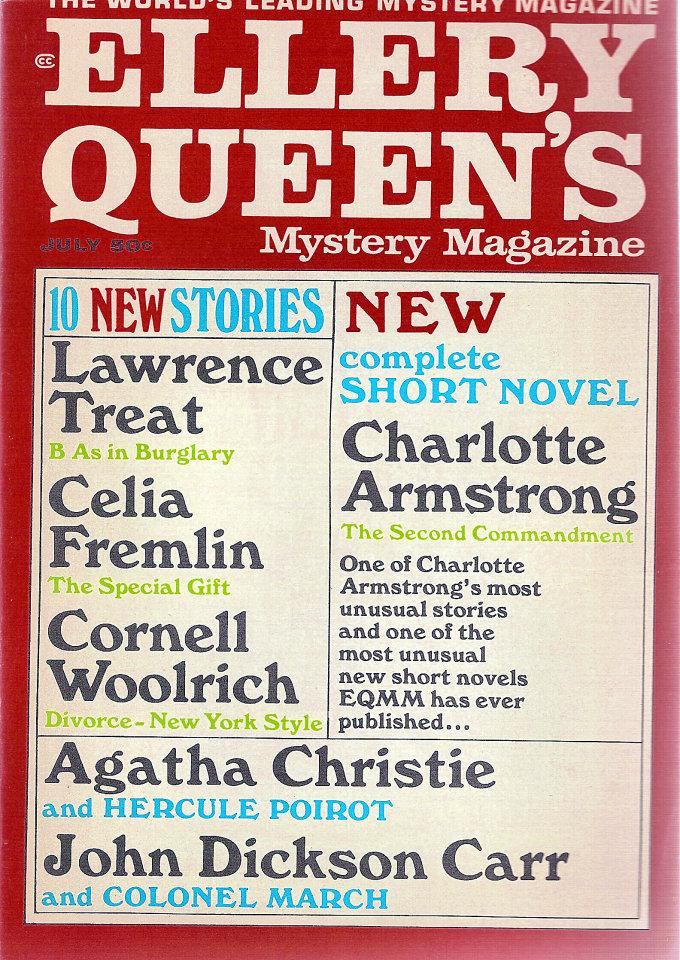 Ellery Queen's Mystery Vol. 50 No. 1